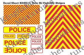 Vehicle Rear HI-Vis Stripes